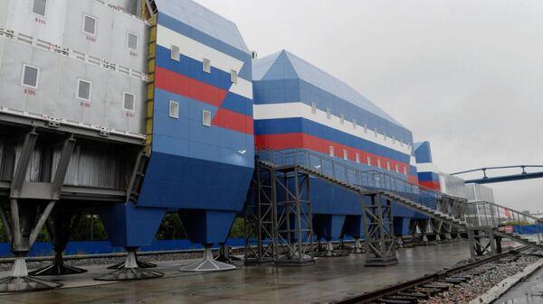 Новый зимовочный комплекс антарктической станции Восток