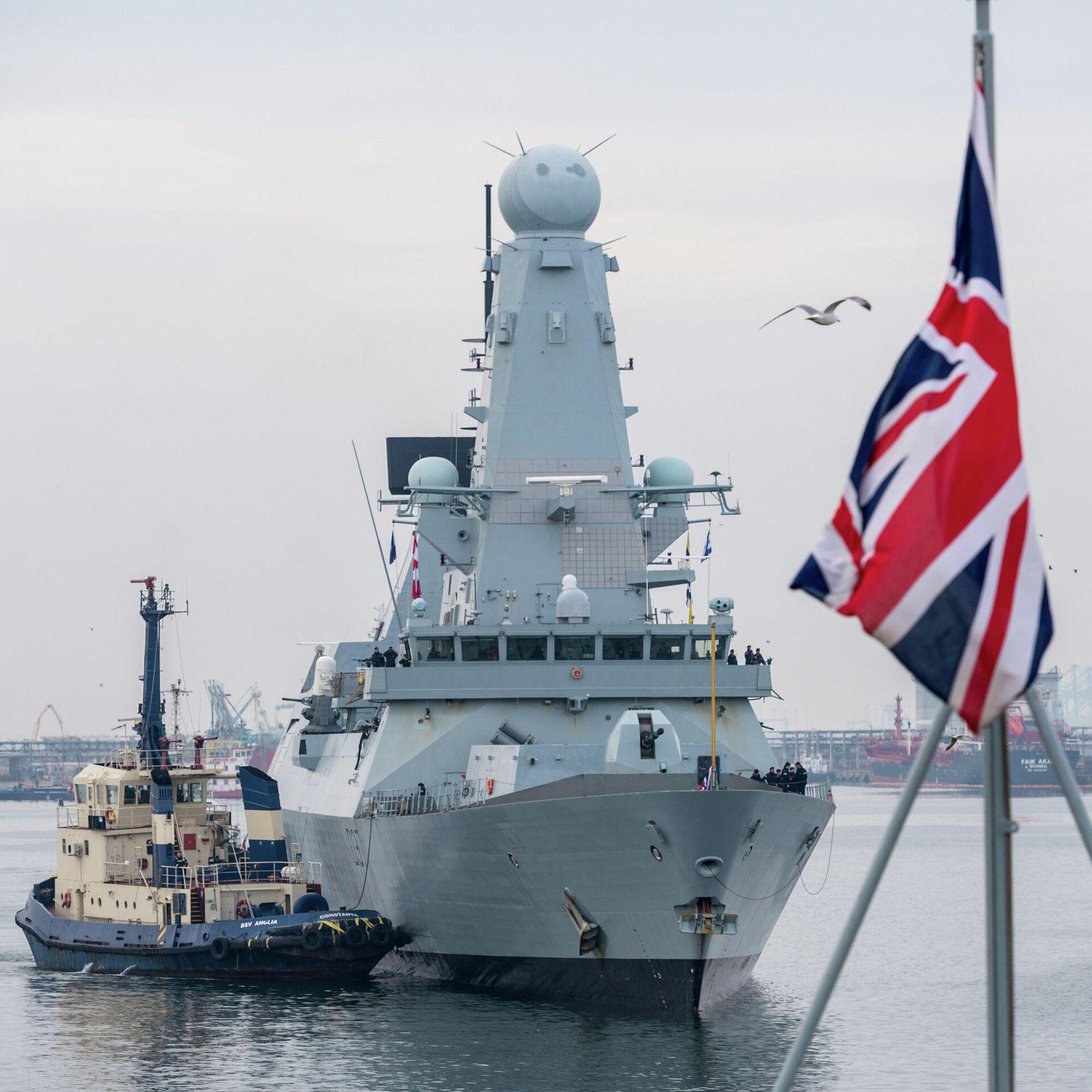 В МИД прокомментировали заход военных кораблей Британии в Черное море - РИА  Новости, 20.04.2021