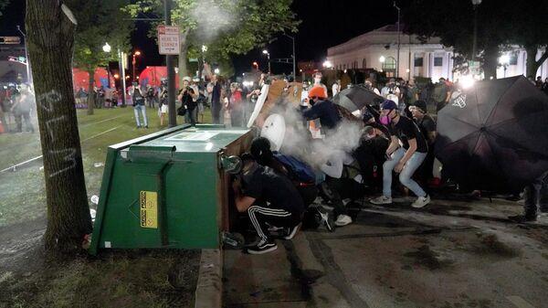 Протесты в Висконсине