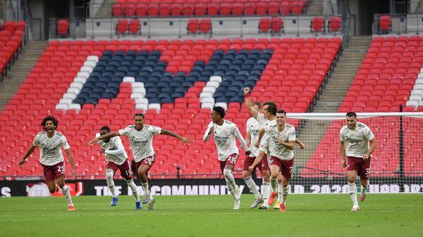 Футболисты лондонского Арсенала