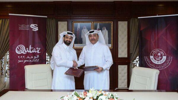 Организаторы чемпионата мира по футболу 2022 года в Катаре.