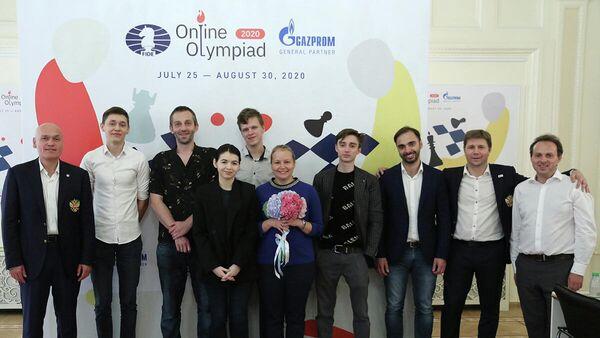 Шахматисты сборной России