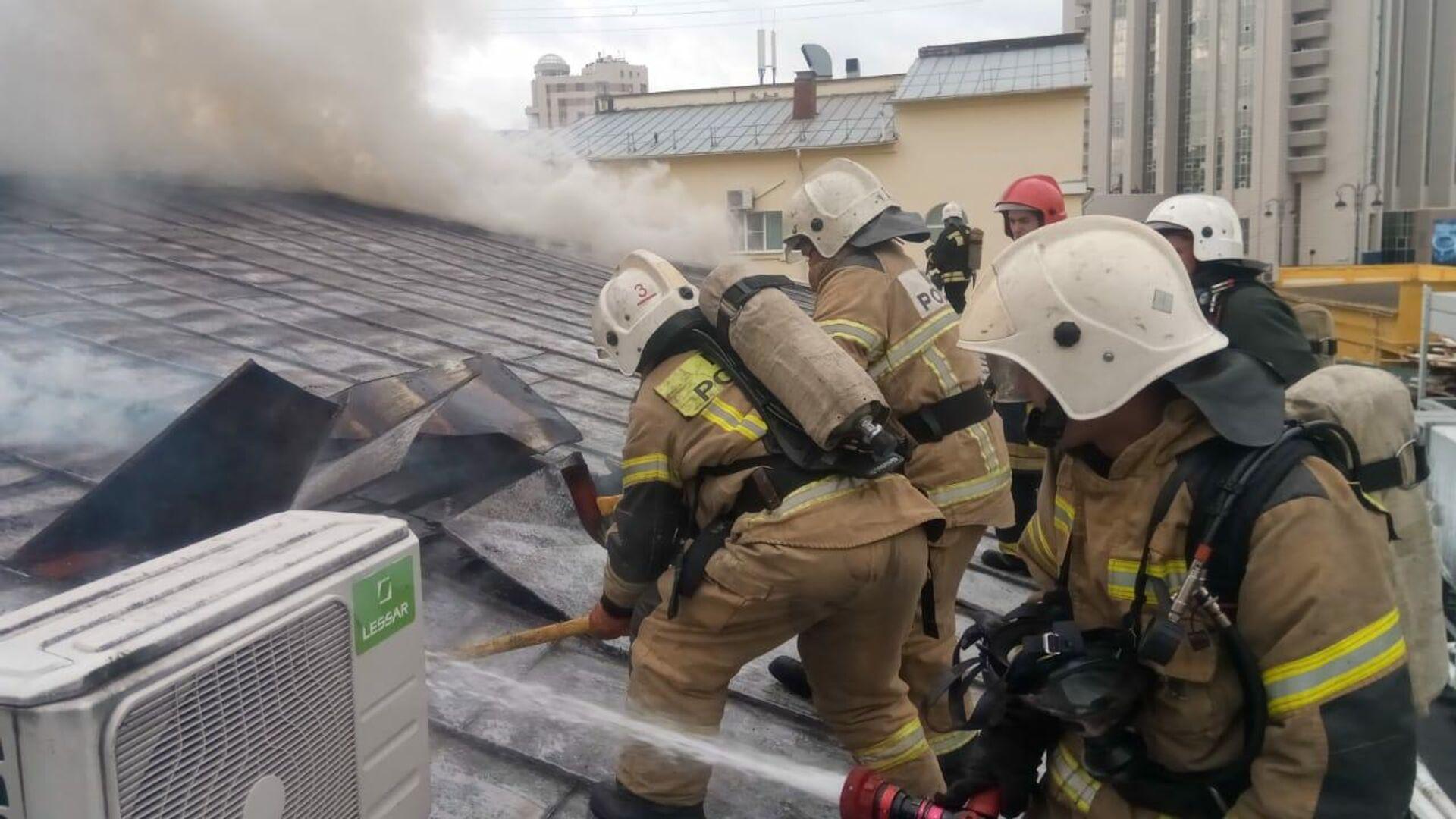 Во Владимирской области потушили пожар в многоквартирном доме
