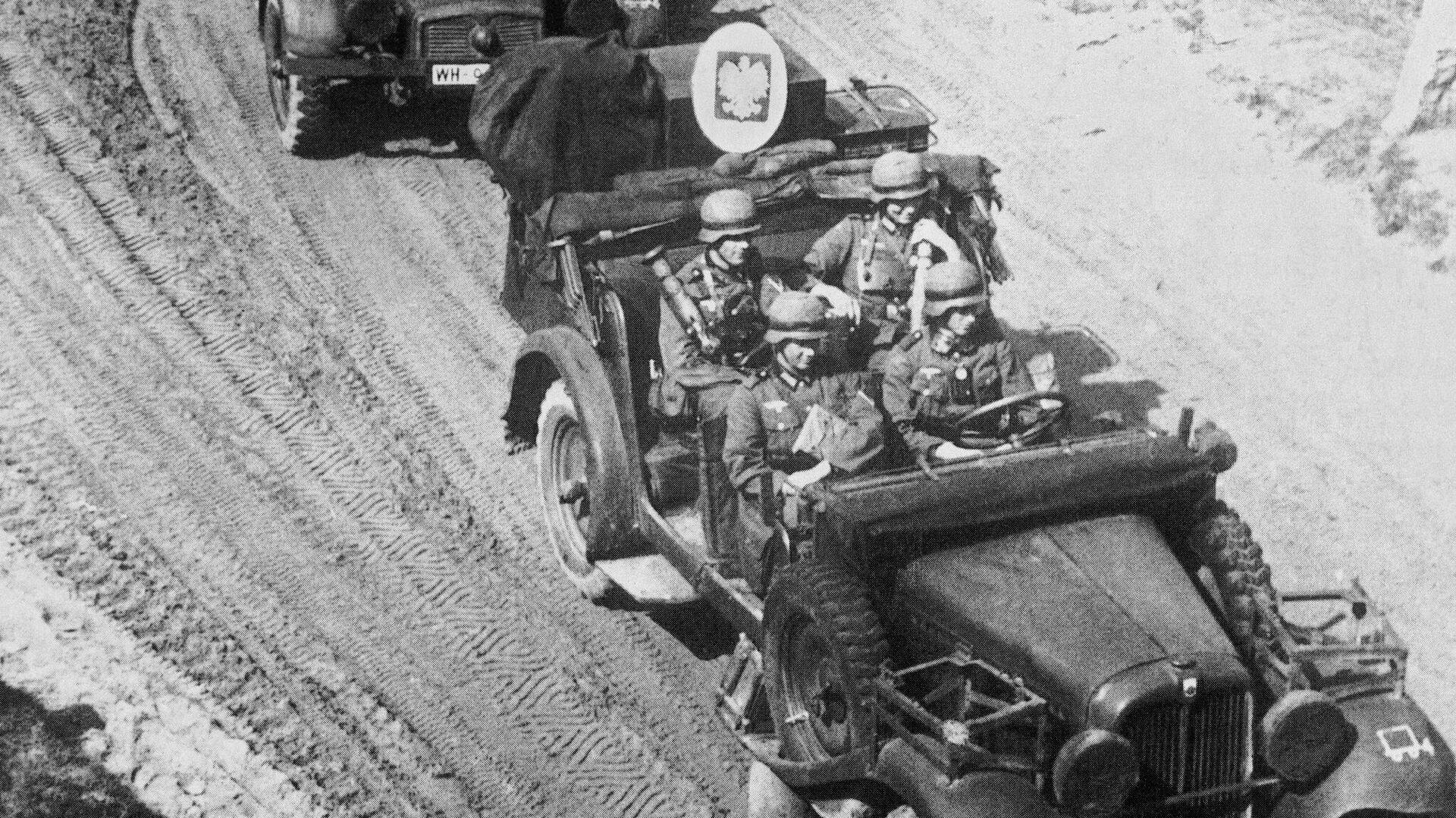 1 сентября 1939 года войска Германии вторгаются в Польшу, начав Вторую мировую войну в Европе - РИА Новости, 1920, 27.01.2021