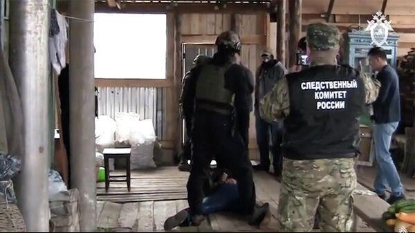 Задержание подозреваемого в совершении серии особо тяжких преступлений в Томской области