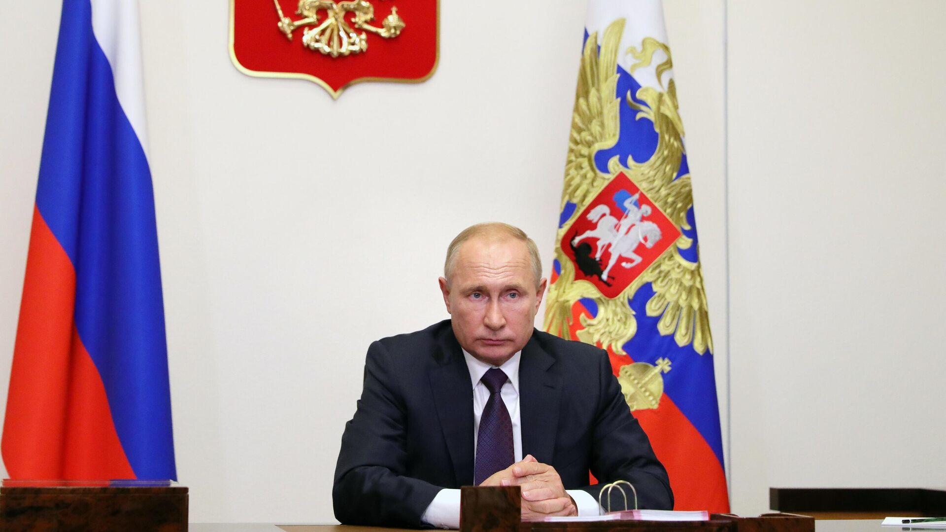 Президент РФ Владимир Путин - РИА Новости, 1920, 10.09.2020