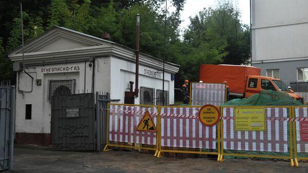 Газораспределительный пункт в Таганском районе Москвы