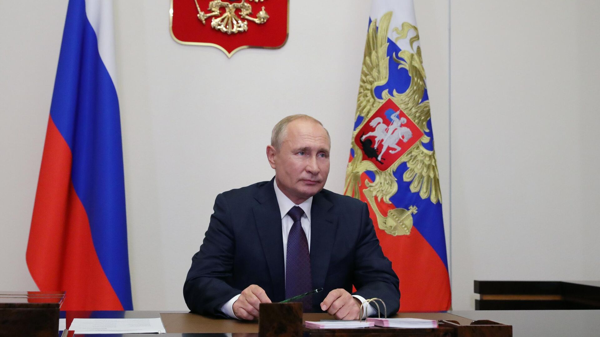 Президент РФ Владимир Путин - РИА Новости, 1920, 06.09.2020