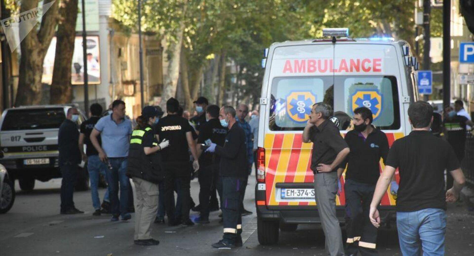 В центре Тбилиси при взрыве погиб один человек - РИА Новости, 04.09.2020