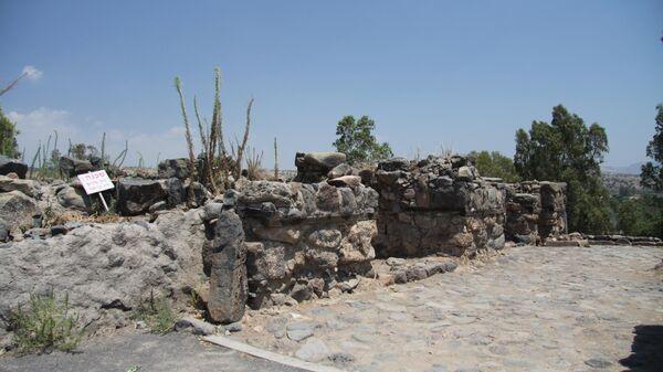 На месте раскопок города Вифсаида Галилейская