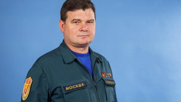Начальник ГКУ Пожарно-спасательный центр Иван Подоприхин