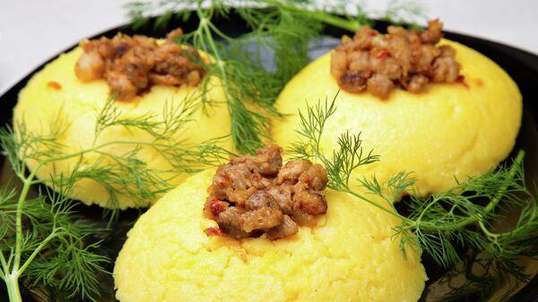 Мамалыга - национальное блюдо Молдавии