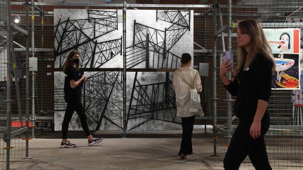 Ярмарка современного искусства blazar в Музее Москвы
