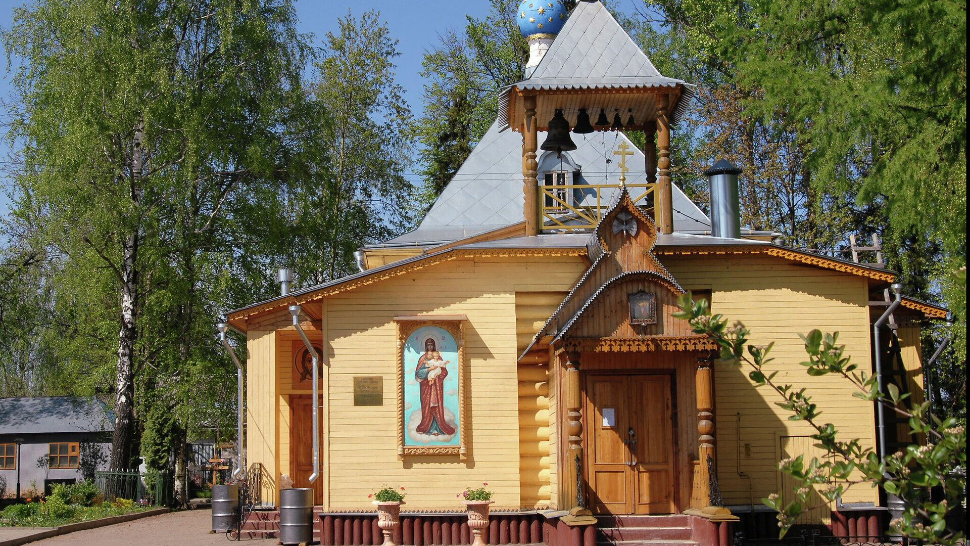Церковь Сретения Господня в Новой Деревне - РИА Новости, 1920, 09.09.2020