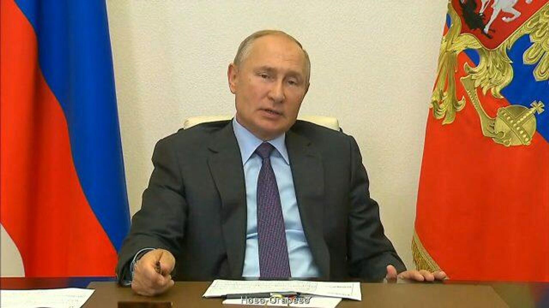 Путин: Надеюсь, зима врасплох не застанет - РИА Новости, 1920, 09.09.2020