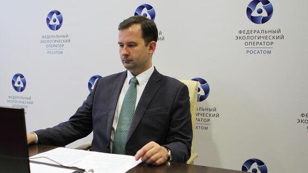 Первый заместитель генерального директора ФГУП Федеральный экологический оператор по реализации экологических проектов Максим Корольков