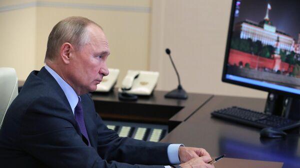 LIVE: Путин проводит совещание по экономическим вопросам в режиме видеоконференции