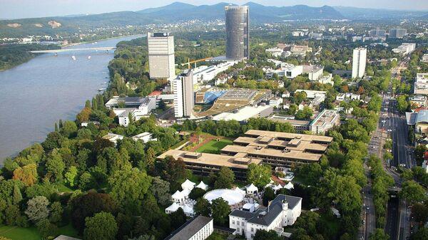 Вид на город Бонн в Германии