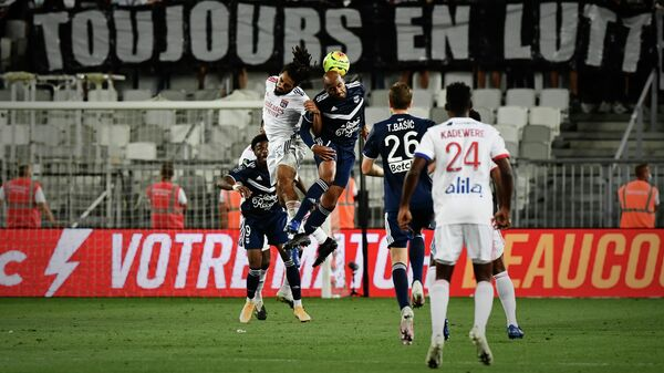 Футболисты Бордо и Лиона