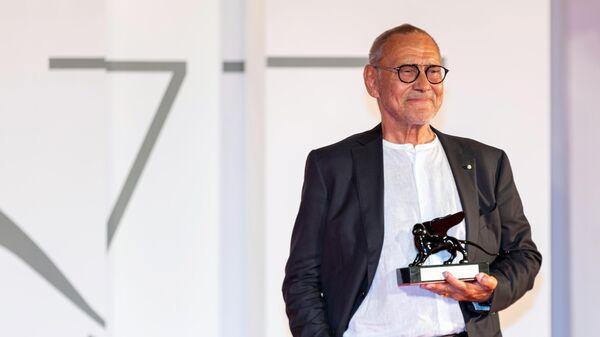 Режиссер Андрей Кончаловский во время закрытия 77-го Венецианского кинофестиваля