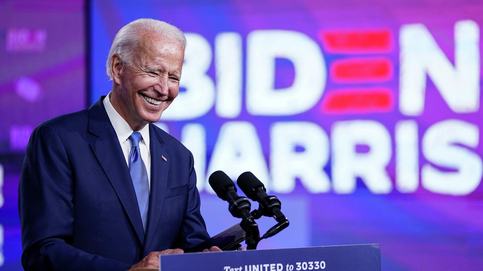 Кандидат в президенты США от Демократической партии и бывший вице-президент Джо Байден  - РИА Новости, 1920, 15.09.2020
