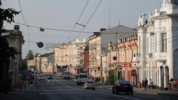 Вид на проспект Ленина в Томске