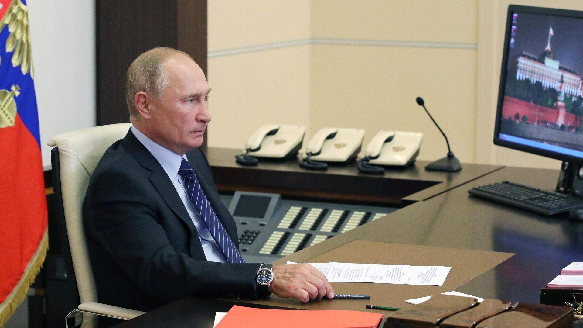 Владимир Путин и Единый регулятор азартных игр