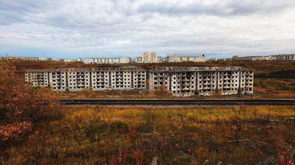 Расселенный и заброшенный поселок