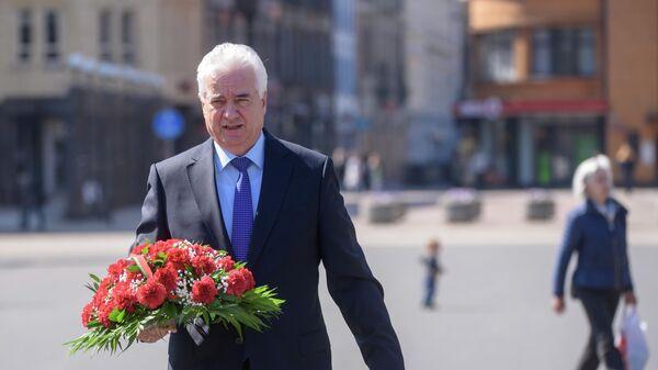 Посол республики Беларусь в Латвии Василий Маркович