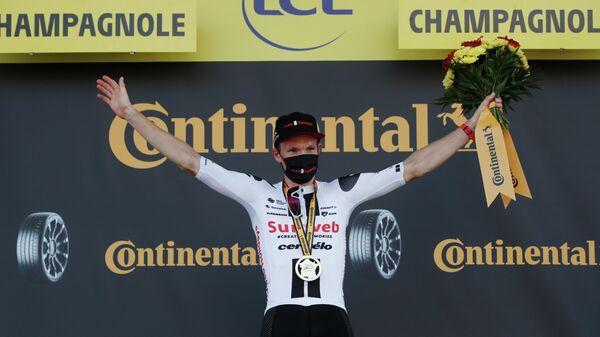 Датский велогонщик команды Sunweb Серен Андерсен