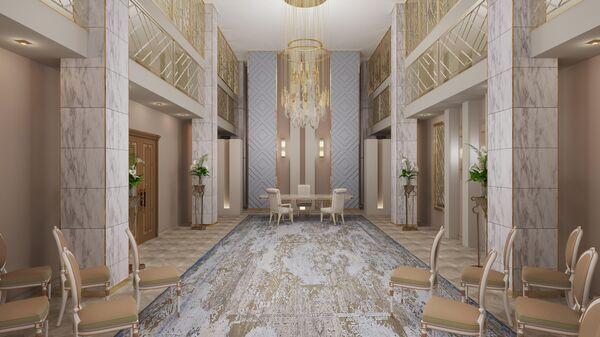 Проект ремонта дворца бракосочетаний №4 в Савеловском районе Москвы