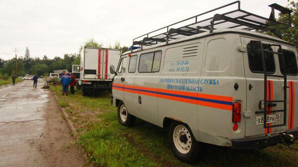 Автомобили МЧС в Иркутской области