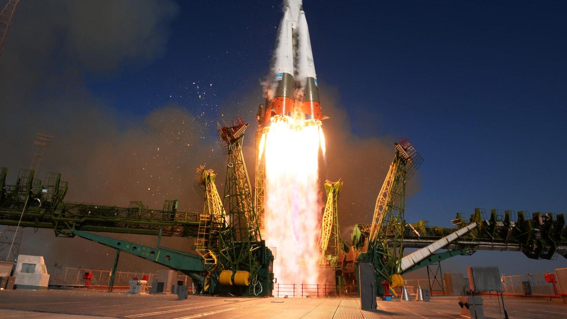 Запуск ракеты-носителя - РИА Новости, 1920, 23.01.2021