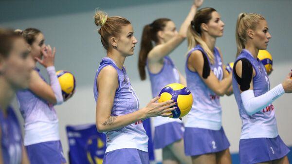 Волейболистки Минчанки