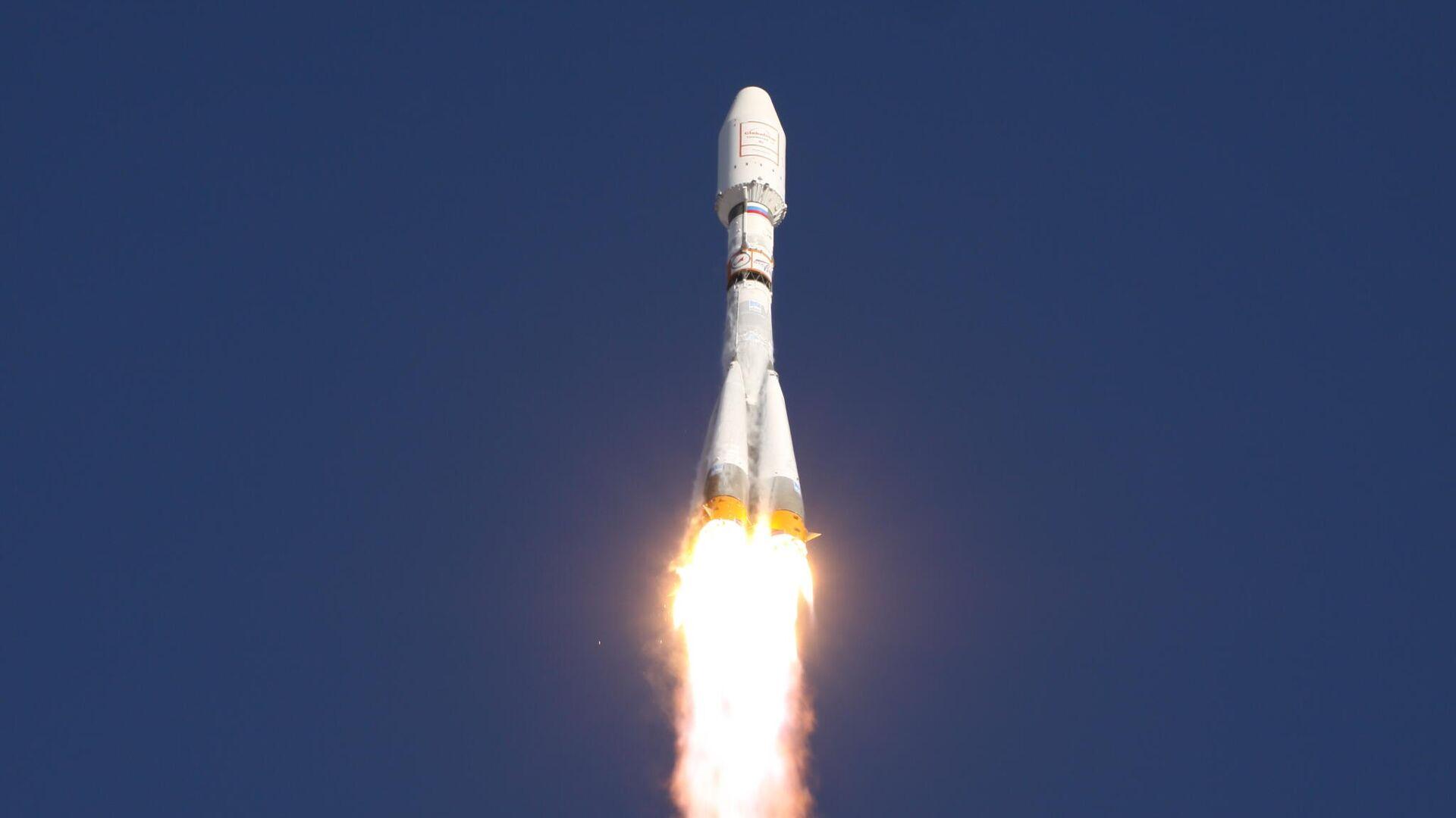 Пуск ракеты Союз-2.1а с разгонным блоком Фрегат. Июль 2011 - РИА Новости, 1920, 04.03.2021