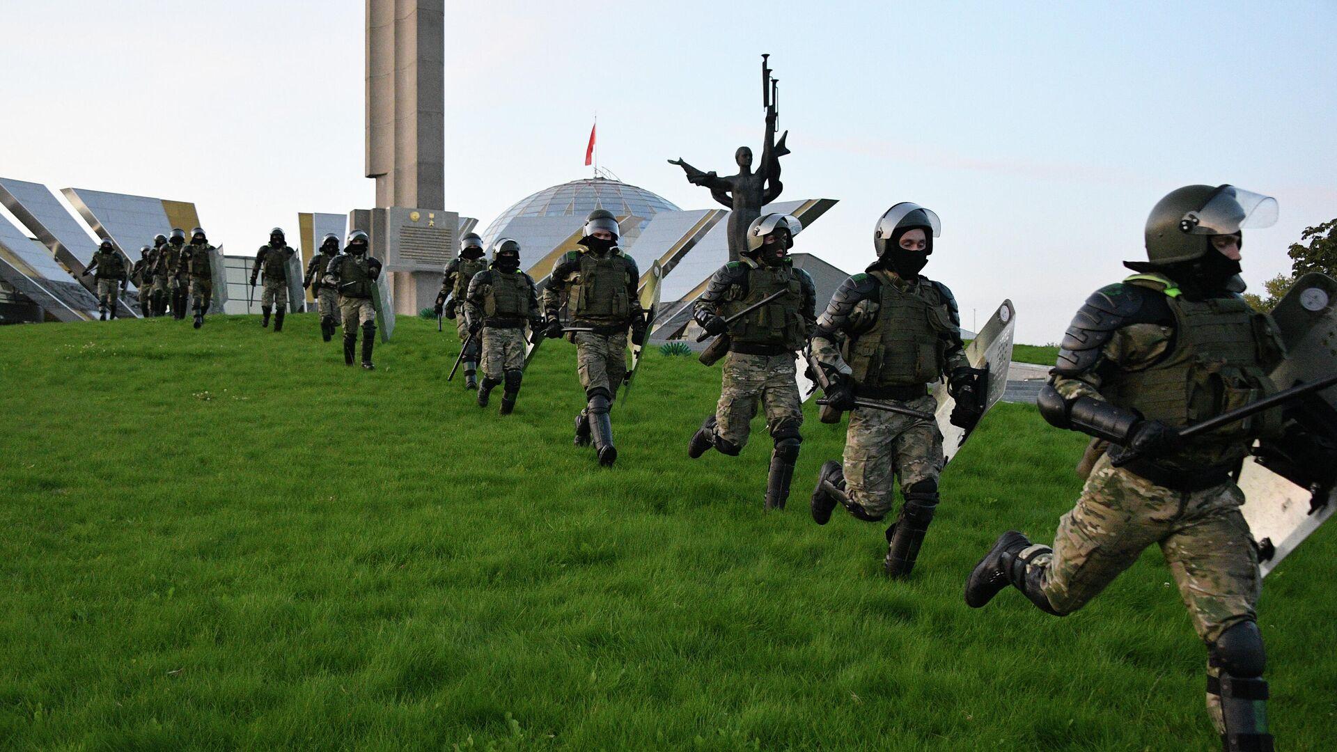 Число задержанных наакции вМинске возросло  до24 человек