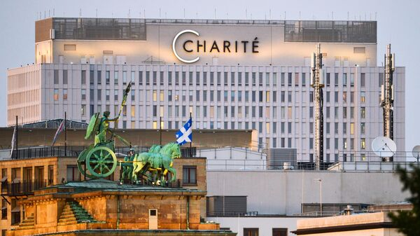 Здание клиники Шарите в Берлине