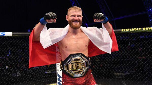Польский боец MMA Ян Блахович