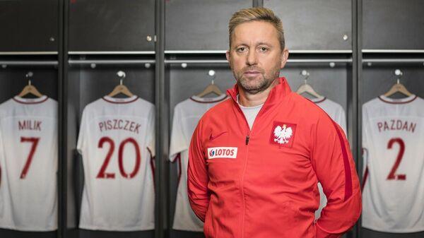 Главный тренер сборной Польши по футболу Ежи Бржечек