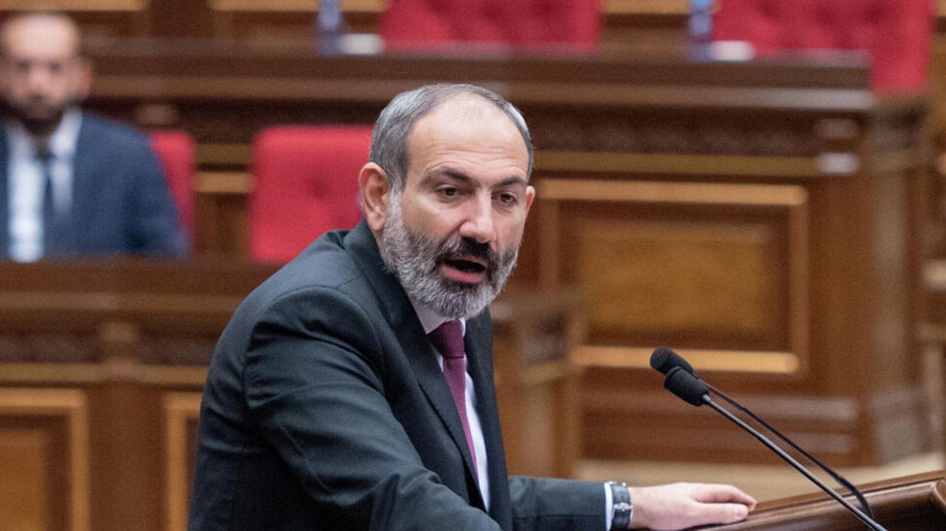 Премьер-министр Армении Никол Пашинян - РИА Новости, 1920, 18.10.2020
