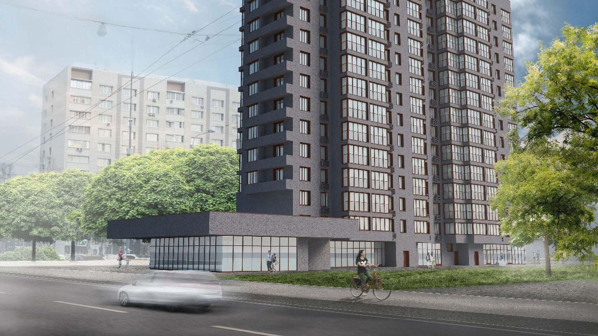 Проект дома по программе реновации в Басманном районе Москвы - РИА Новости, 1920, 28.09.2020