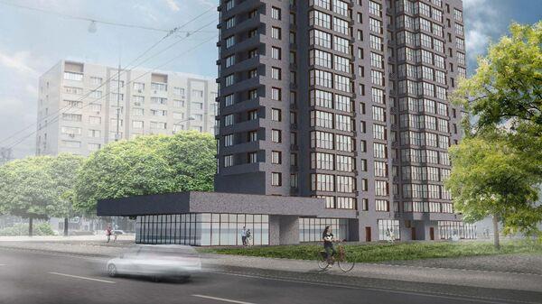 Проект дома по программе реновации в Басманном районе Москвы
