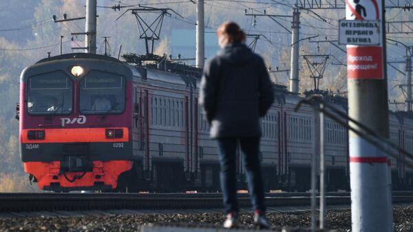 Железнодорожная платформа Левая Обь в Новосибирске