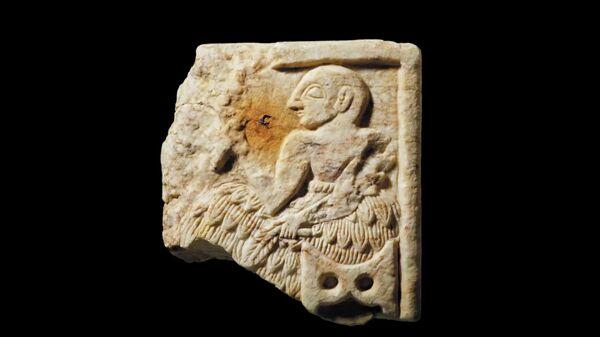 Шумерский барельеф, вывезенный из Ирака