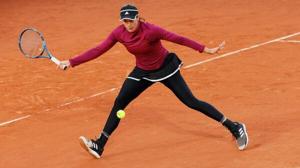 Теннисистка Гарбинье Мугуруса (Испания)