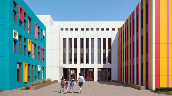 Проект школы в ЖК Эталон-Сити