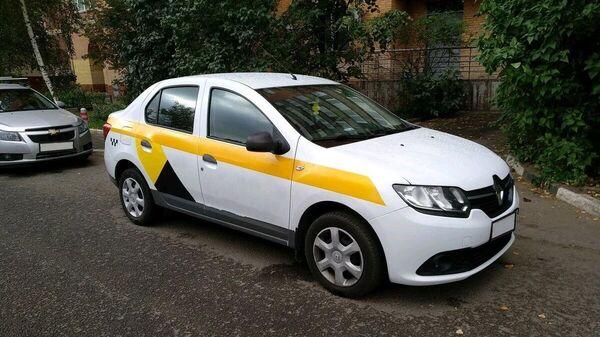 Угнанная машина такси, водитель, которой был убит
