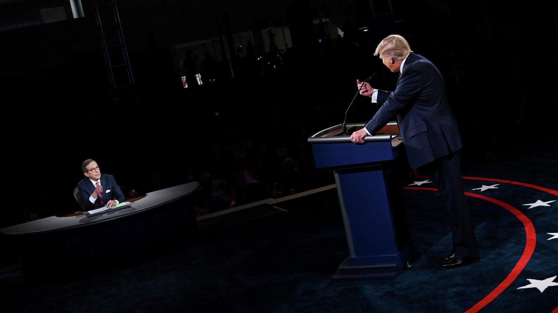 Дебаты Дональда Трампа и Джо Байдена в США - РИА Новости, 1920, 08.10.2020