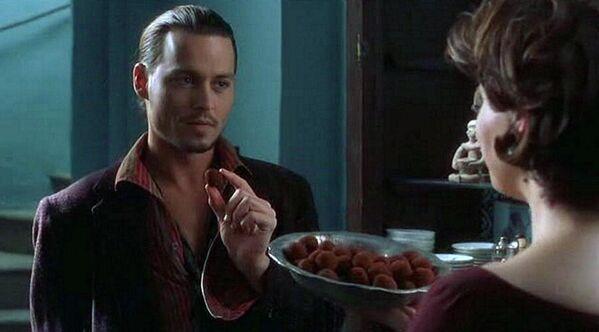 Кадр из фильма Шоколад