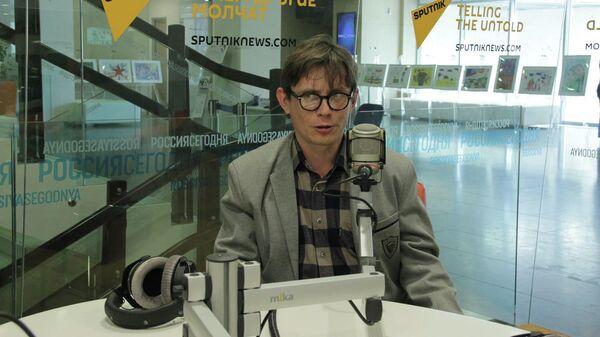 Корреспондент международного информационно агентства Sputnik Лев Рыжков